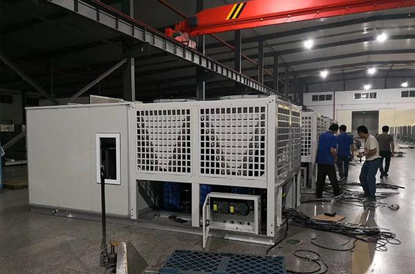 屋顶式空调机组_直膨组合式净化空调机组
