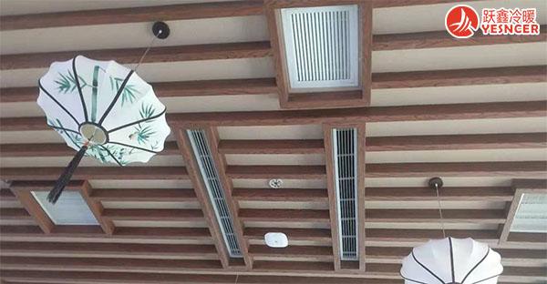 温泉酒店夏季制冷、冬季采暖解决方案