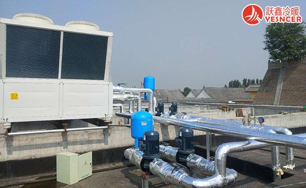空气源热泵安装实例