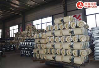风机盘管配件ABS风轮_风机盘管车间