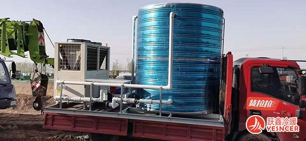 空气能热泵一体机运输过程中