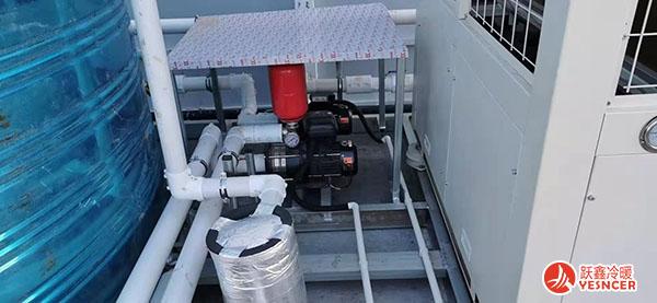 空气能热泵一体机细节图