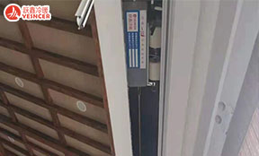 保定莲池书院,卧式暗装风机盘管安装中