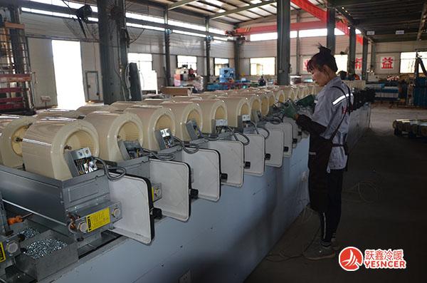 风机盘管厂家加工生产流程