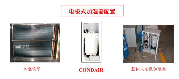 电极式加湿器配置